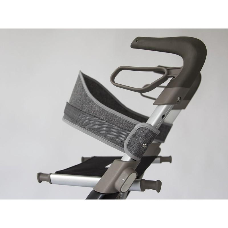 Ryglæn til Carbon UltraLight rollator