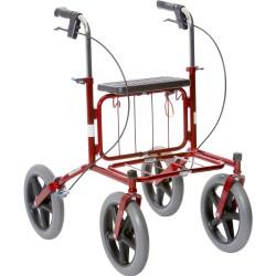 Image of   Carl-Oskar Udendørs rollator med massive hjul