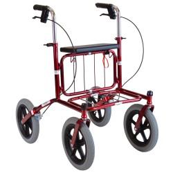 Image of   Carl-Oskar Udendørs rollator med luftgummi hjul