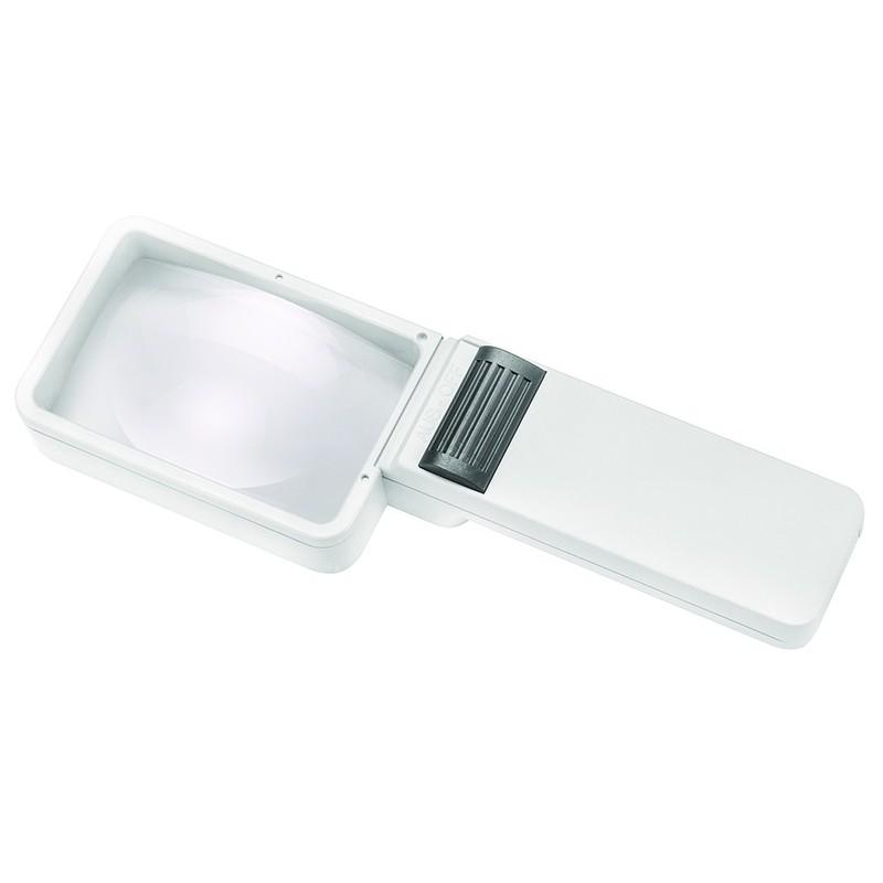 Mobilux forstørrelsesglas med lys.
