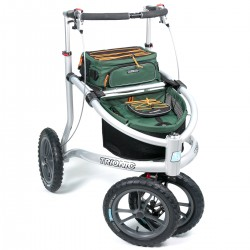 Image of   Demo: Trionic Veloped Off-road rollator - TREK, Large 14""