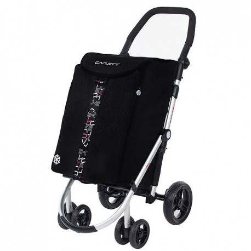 Carlett 460 Shopper med 4 hjul