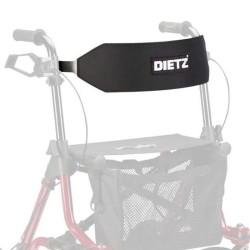 Komfort Rygstøtte til Dietz Taima rollator